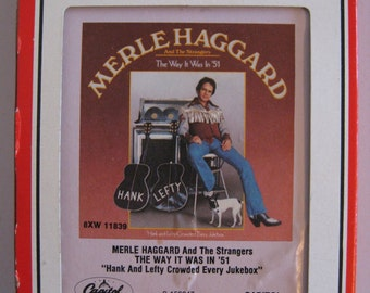 Merle Haggard   -  The Way It Was in 51' - Circa 1978 - (8 Track Tape)