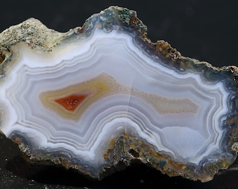 Lovely Polished Laguna Agate