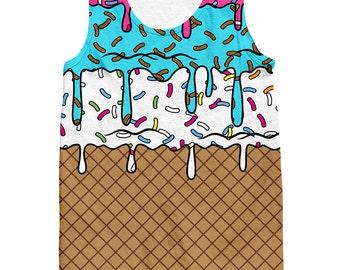 Ice Cream Cone Tank Top