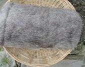 Ewespinningmeayarn Carded British Jacob Batts. Grey. Spinning Wool / Core Wool / Felting Wool. 100/200g-3.52/7.04oz