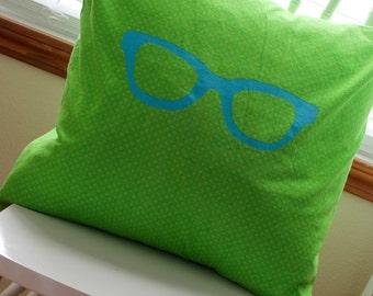Geek Glasses Pillow 20x20
