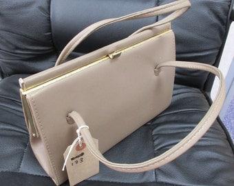 Vintage 1960's Kelly Style Handbag Made By 'Debenhams' - Lovely!!