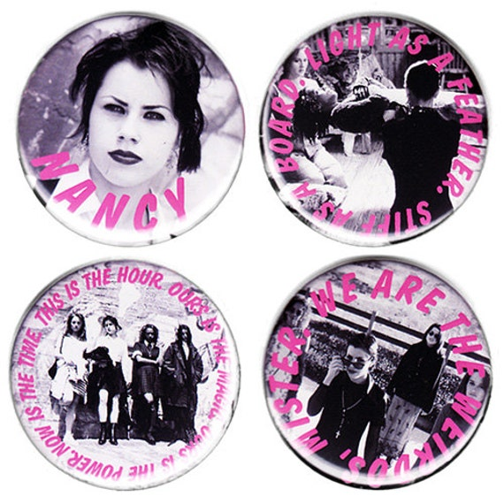 THE CRAFT large pin set  (58mm)