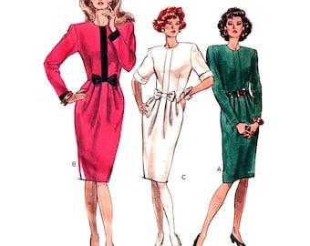 Vogue 7556 Sewing Pattern Misses' / Misses' Petite Dress  Size:  12-14-16  Uncut