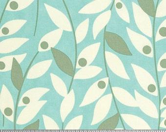 Nicey Jane by Heather Bailey - Lindy leaf blue