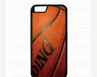 ON SALE iPhone 6 6S 6 Plus or 6S Plus Case Rubber Basketball