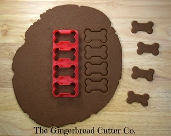 Dog Bone Mini Cookie Cutter Stick