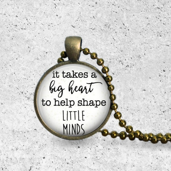 Teacher Gifts, It Takes A Big Heart To Shape Little Minds, Special Education Teacher Gifts, End Of Year Gifts, School Counselor Gifts, Apple