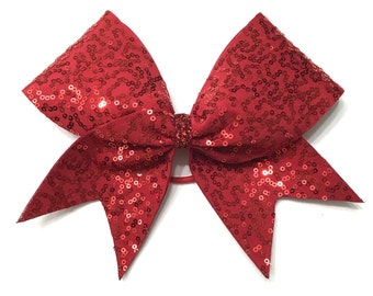 Cheer Bow Purple By Breezebows On Etsy