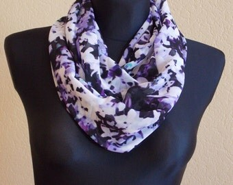 "Silk chiffon scarf  ""SOPHIE"" -  scarf for women -  scarves"