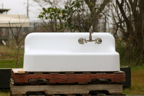 Antique Refinished Apron Farm Sink 42 Kohler Cast By Readytore