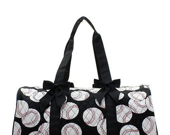 Quilted Baseball/Softball/Soccer  Duffle Bag