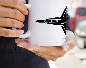 KillerBeeMoto: U.S. Made Coffee Mug McDonnell Douglas F/A-18 Hornet