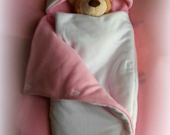 Fleece baby sleeping bag