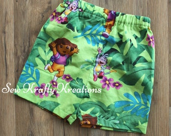 Children's  - Dora and Boots Lounge Shorts