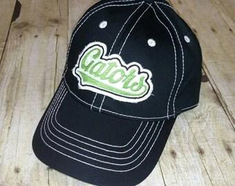 Village Green Gators Black Adult Hat