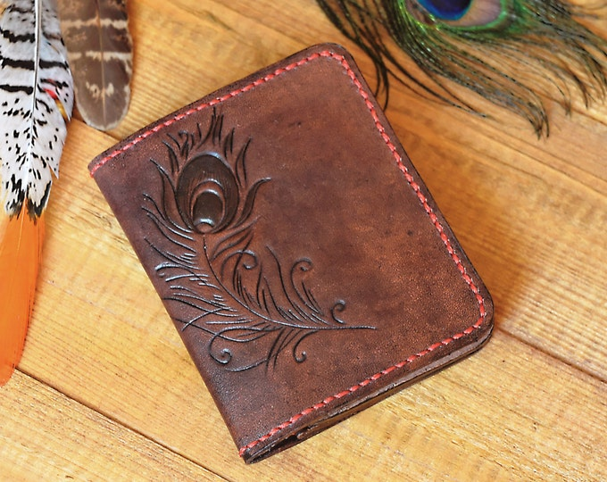 leather wallet,womens wallet,gift for her,tooling leather,handmade wallet,bohemian wallet