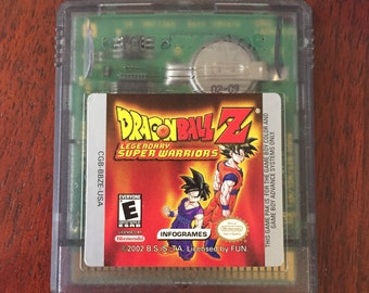 Dragon Ball Z: Legendary Super Warriors GAMEBOY COLOR GAME