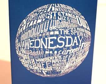Sheffield Wednesday Greetings Card
