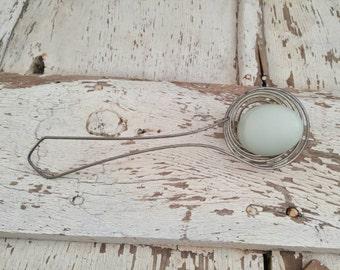 Vintage Metal Egg Separator