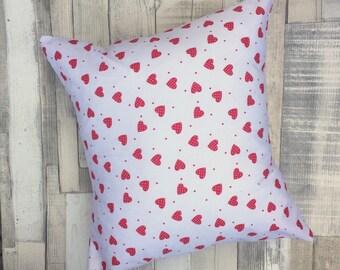 Love Heart Cushion Cover, Cushion Cover, Pillow Cover, Throw Pillow,  Nursery Cushion