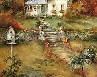 Autumn - Counted cross stitch pattern in PDF format