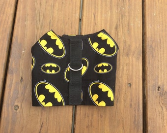 Batman Pet Harness - Fabric Pet Harness