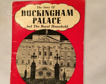 Vintage Buckingham Palace Book