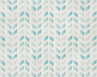 Blue Herringbone Photo Backdrop