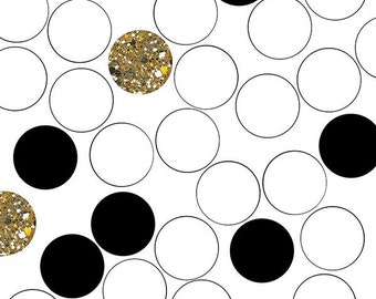 Retro Dot Gold Photo Backdrop