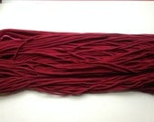 T-shirt Yarn, Deep Red from Upcycled cotton T-shirt