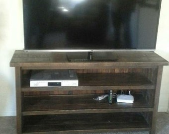 Entertainment Center/TV stand made with 100% Solid Oak