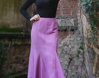 Ladies skirt Godet easy PDF File with E-Book Sewing instructions
