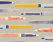 In Stock! Fat Quarter Pens in Neutral by Melody Miller for Cotton and Steel