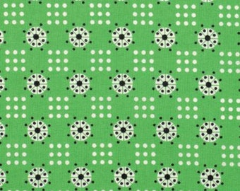 Katie Jump Rope by Denyse Schmidt for Free Spirit Fabrics -   Fair Atomic Dot Fabric
