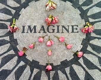 imagine sign, nyc imagine, beatles imagine, nyc wall art, nyc home decor, travel photography, bedroom art, nursery decor