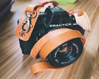 Camera Leather Strap and Wrist Strap