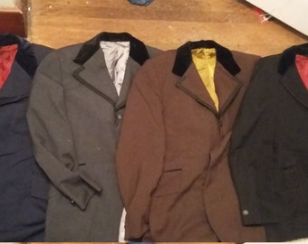 vintage tuxedo tux jackets 1960 1970 mens suit coats prom retro old made usa have some pants need shoes and tie pick 1 size