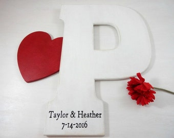Personalized Wedding Signs Wedding Signs Engraved Large Wedding Letters Wedding Photo Props Alternative Guest Books Rustic Wedding Signs