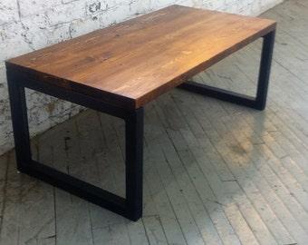 Reclaimed Wood Coffee Table - Lentini Design