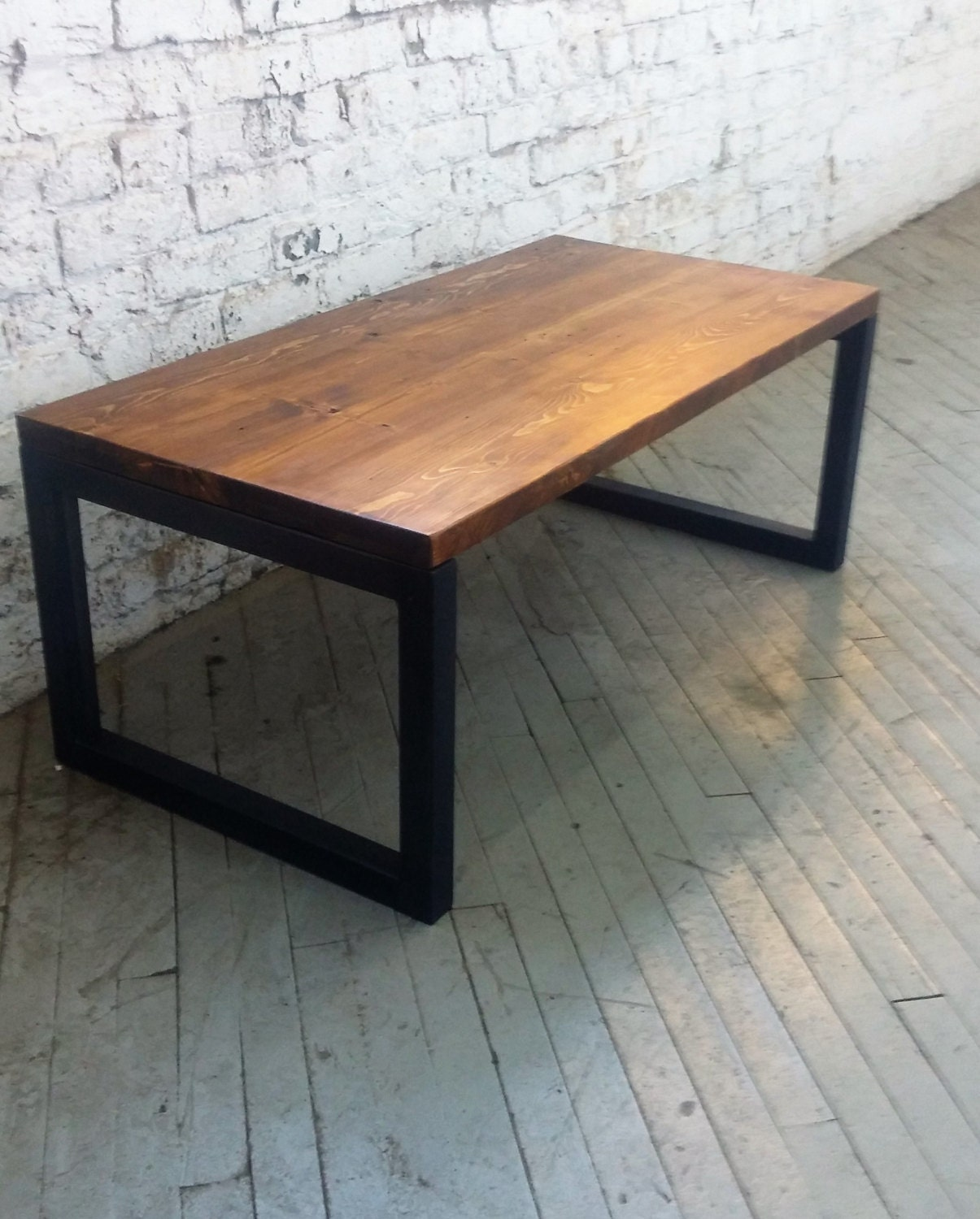 Reclaimed Wood And Metal Coffee Table: Reclaimed Wood And Steel Coffee Table Lentini Design