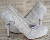 Aisle always love you handmade wedding shoes