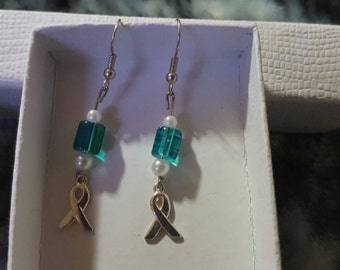 Show Your Support Ribbon Earrings