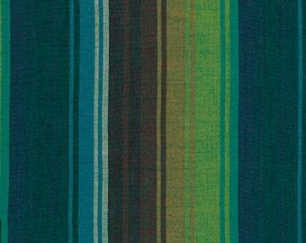 1/2 yard Kaffe Fassett Exotic Stripe Emerald fabric