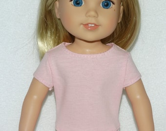 Handmade T-Shirt fits Wellie Wishers Camille Doll from American Girl