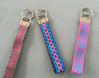 Handwoven Key Fobs