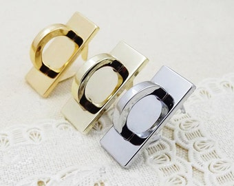 1.2*0.5 inch bridge buckle ,belt buckle , strap buckle 8pcs ( attach with screws and washers)