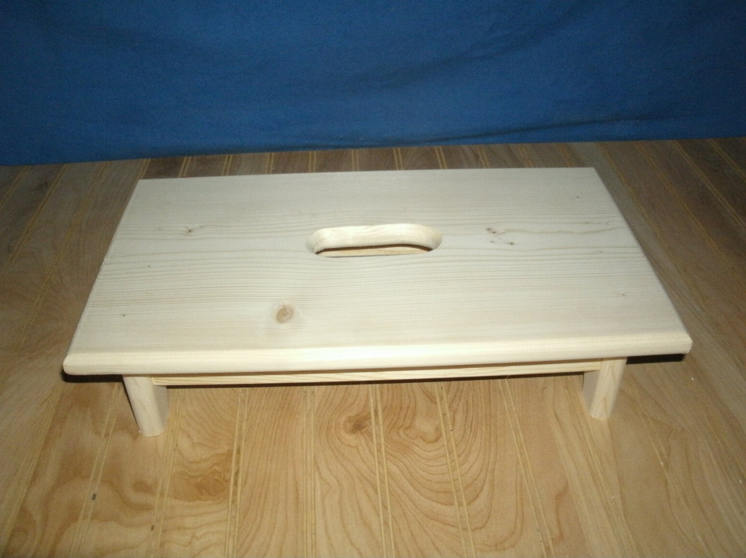 Wood Step Stool Wooden Step Stool 4 With Hand Hole