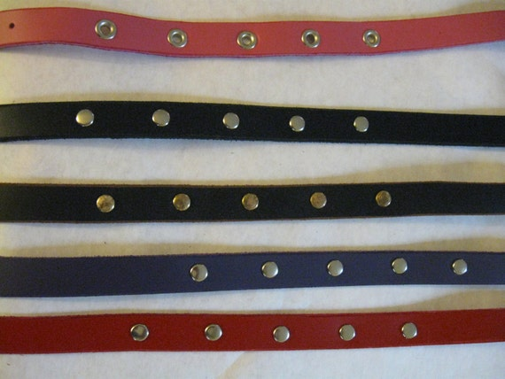 Studded Leather Choker/Collar