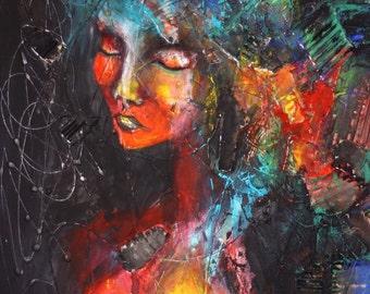 Africa - original art by ongnphuong // Phuong Ong